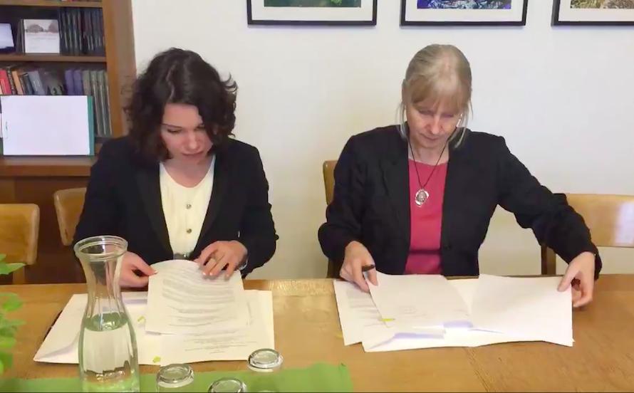 Der Vertrag über der Eröffnung des akademischen Boris-Nemtsov-Zentrums zur Russland-Forschung wurde unterschrieben